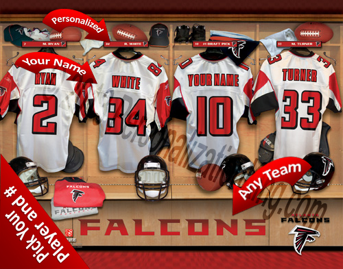 Atlanta Falcons Personalized Prints