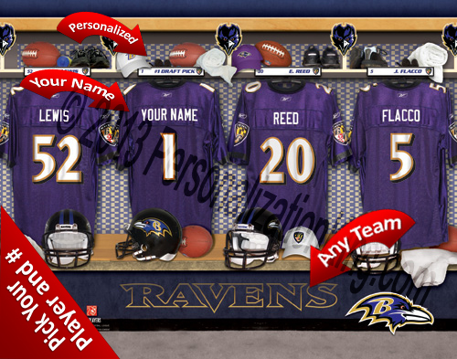 Baltimore Ravens Personalized Prints