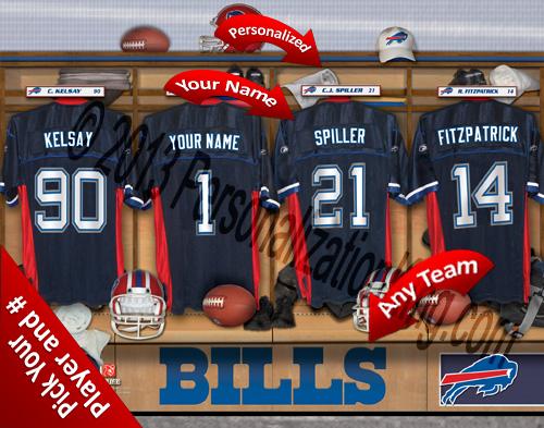 Buffalo Bills Personalized Prints