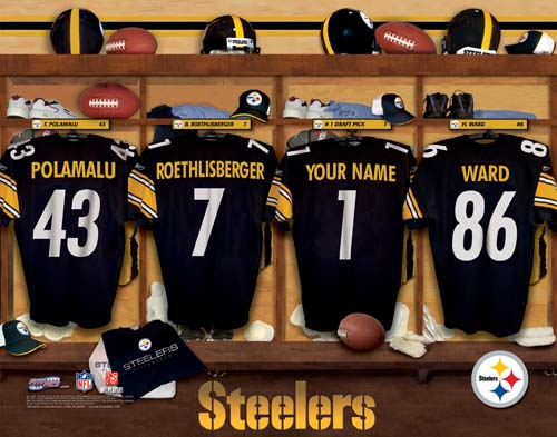 NFL Team Locker Room Print