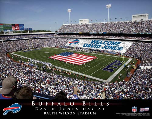 BUFFALO BILLS NFL STADIUM PRINT