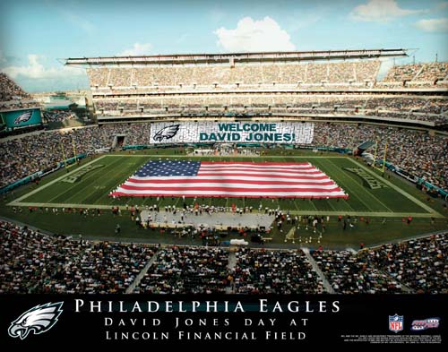 PHILADELPHIA EAGLES NFL STADIUM PRINT