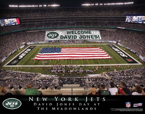 NEW YORK JETS NFL STADIUM PRINT