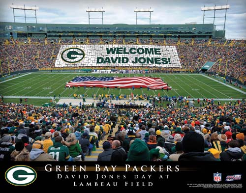 GREEN BAY PACKERS NFL STADIUM PRINT