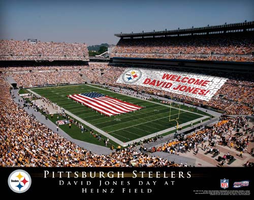 PITTSBURGH STEELERS NFL STADIUM PRINT