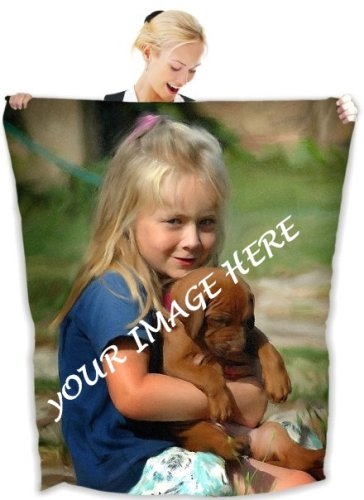 "60"" x 80"" Fleece Printed Blanket"
