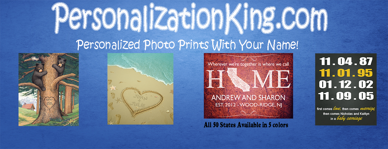 Personalized Photo Prints